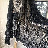 ALE02 Chantilly Spitzenblumen-Braut-/Hochzeitskleid,