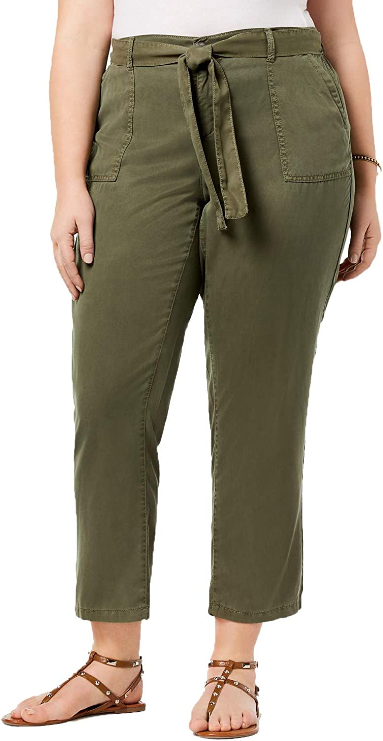 Style & Co. Womens Plus High Rise Soft Casual Pants