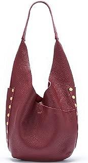 Tom Snap Leather Hobo Bag - Crimson [17