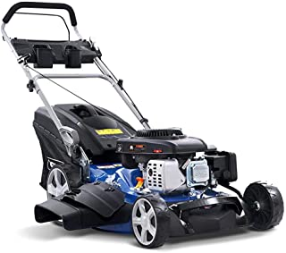 "Giantz Crodless Lawn Mower 220CC 22"" Petrol Lawnmower for Garden Backyard Patio"