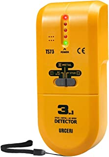 Detector de Pared, URCERI 3 en 1 Escáner Portátil de Metal, Madera y AC