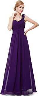 blue and purple bridesmaid dresses