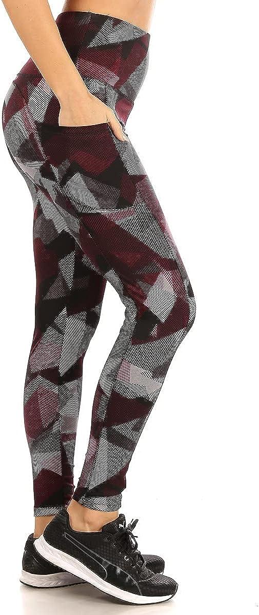 ShoSho Womens Plus Large special price !! Size Leggings Sculpting Import Tummy Control Butt Yo