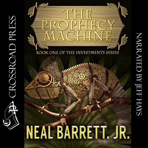The Prophecy Machine audiobook cover art