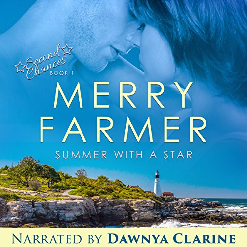 Summer with a Star audiobook cover art