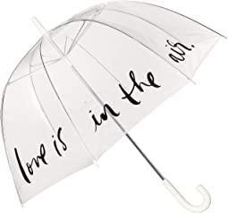 Love Is in the Air Clear Umbrella