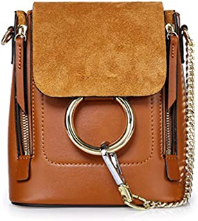 Yoome Casual Women's Retro Circular Ring Chain Bag Fashion Dull Polish Makeup Pouch For Girls