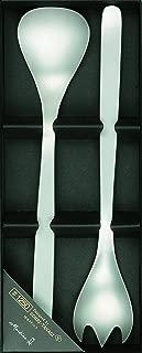 柳 宗理 服务勺·叉子 2件套 日本制造