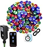 Linkable LED Christmas Lights 72ft 200Led Color Changing Tree Light,8 Mode Multi...