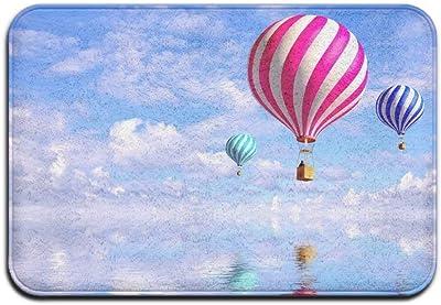 DSSYEAH Felpudo De Entrada Ocean Hot Air Balloon Entrada ...