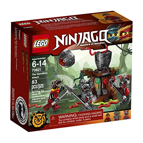 LEGO Ninjago The Vermillion Attack 70621 Building Kit (83 Piece)
