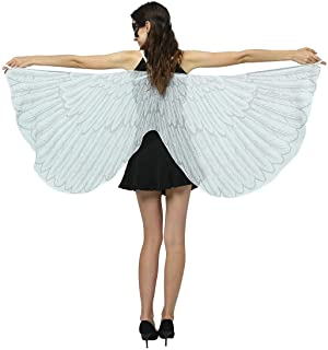 Ypser Halloween Party Wings Shawl for Women Fairy Ladies Costume Cape