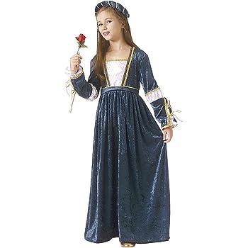 Rubies - Disfraz de Julieta para niñas, talla 5-7 años (67196-M ...