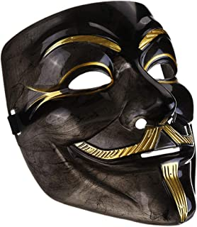 IDOXE V for Vendetta Mask mask White Guy Fawkes Anonymous Halloween Party Masker Dress Fancy Cosplay