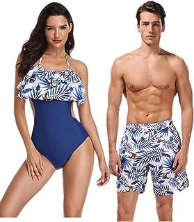 matching couple swimsuits