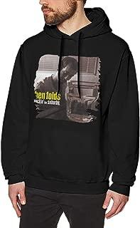 Mens Ben Folds Rockin The Suburbs Funny Hoodies Sweater Black