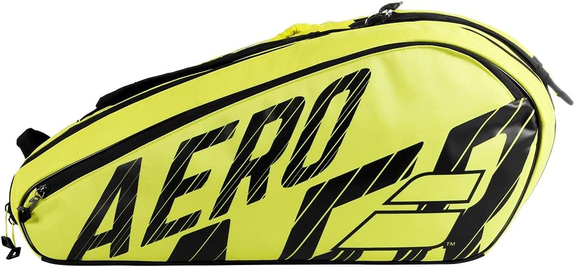 Luxury Babolat 2021 Pure Aero 12 Yellow Black SEAL limited product Tennis Pack Bag