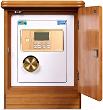 Safe Box Home Password Sedside Cabinet Hidden Fingerprint Snti-Theft Lock Box Wall Or Floor Mounted Safe Storage Box Supplied