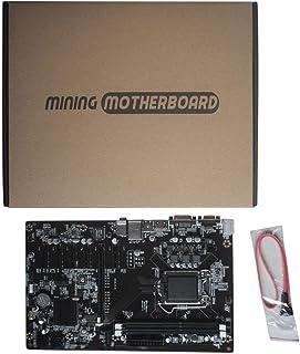 Molyflower H81-BTC V1.01 Placa de minería Placa Base de minería TB250-BTC CPU LGA 1150 DDR3 1066/1333 / 1600MHz Memoria PCI Express - Negro