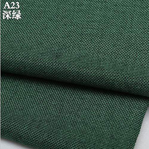 In zwart-wit katoen, linnen stoffen gebruikt in de quilt/DIY naaien/stof bank/table stoffen bekleding/m kussen,donkergroen