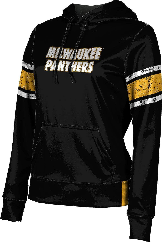 University of Wisconsin-Milwaukee Girls' Pullover Hoodie, School Spirit Sweatshirt (End Zone)