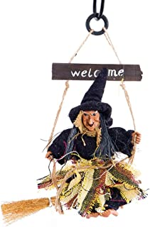 Haunted House Decoration Ghost Witch Horror Scary Hanging Welcome Horror Flying Pendant