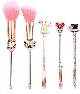 MARIAHANAN Newest Alice in Wonderland Makeup Brushes Set Foundation Blending Powder Eyeshadow Contour Concealer Blush Cosmetic Makeup Tool