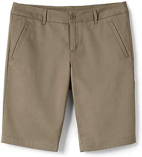 School Uniform Women's Stretch Chino Bermuda Shorts