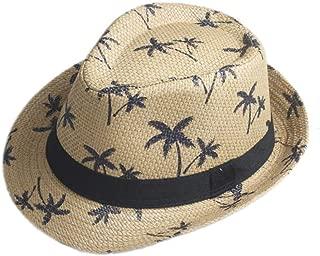 Moda Mujer Hombre Verano Sombrero De Paja para El Sombrero Elegante De Señora Beach Papá Sombrero Sombrero para Caballero Sombrero De Panamá