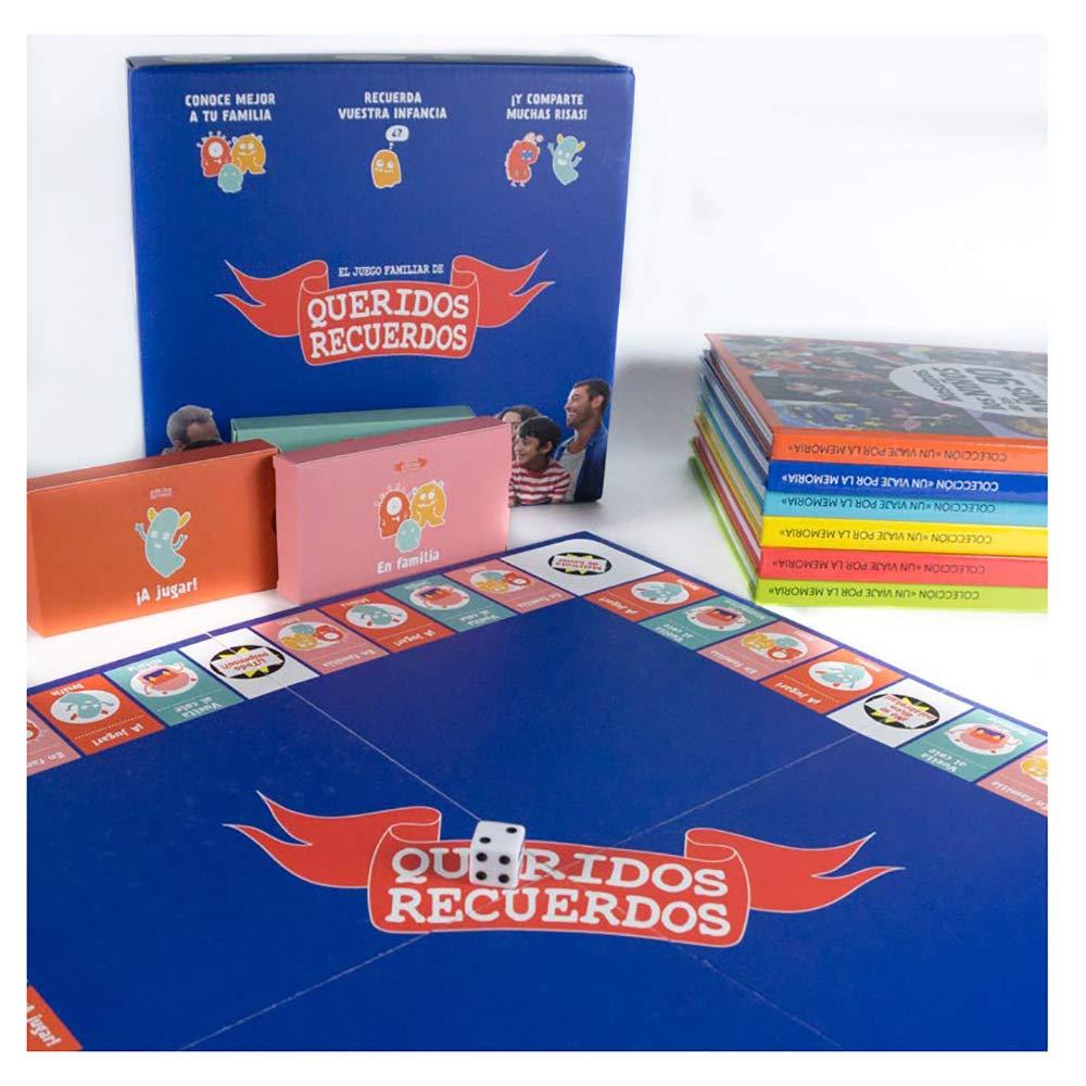 Juego de Mesa Familiar Queridos Recuerdos + Libro de la década. Un Regalo para Toda la Familia: Amazon.es: Hogar