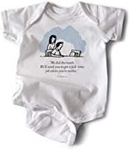 WRYBABY Funny Baby Bodysuit   We Did The Math
