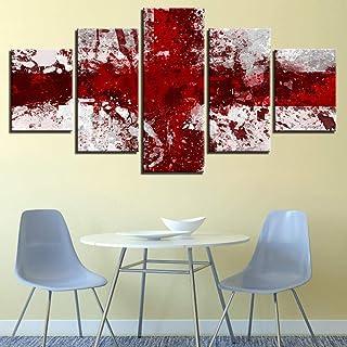 LIVELJ XXl,Giclee Office 5 piece canvas Prints art work Panels Modern Set Gallery HD Pictures Wall Decoration Landscape/Re...