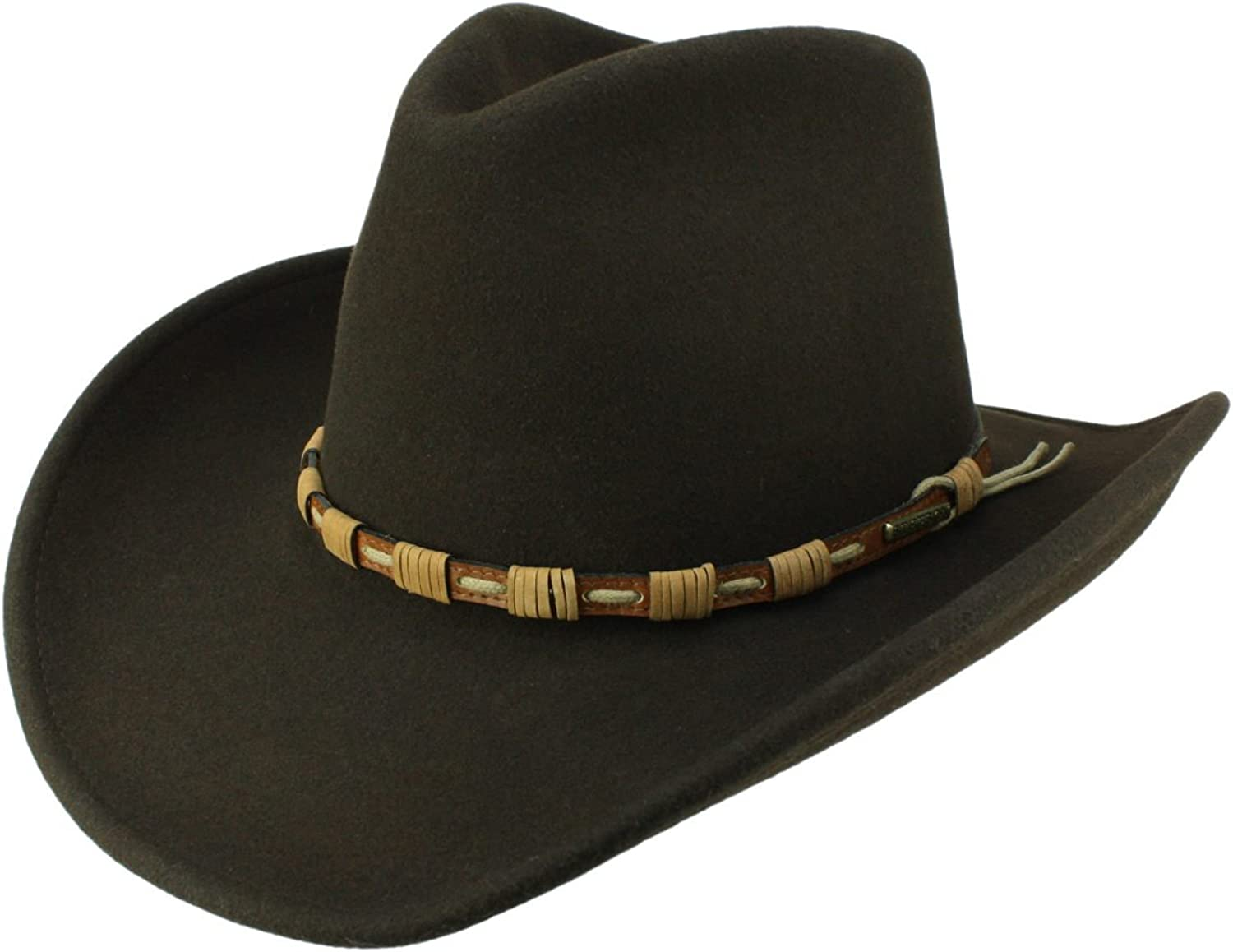 Stetson Men's Cowboy Hat Keeline brown