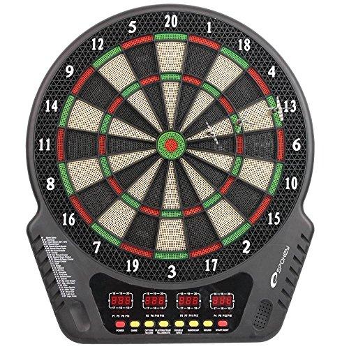 Spokey Unisex Narvi Electronic Dart Board, Mehrfarbig, one Size