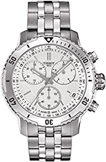 Tissot PRS 200 Stainless Steel Two Tone Chronograph Mens Watch T0674172203101