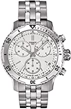 Tissot PRS 200 Chronograph Silver Dial Men's Watch T067.417.11.031.01