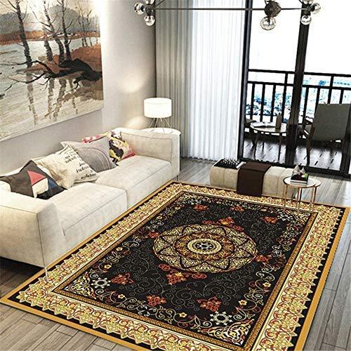 MEICHENG-DZ Weich Teppich modernes Sofa Kaffee Wohnzimmer Esszimmer golden Schlafzimmer Nachttisch abstrakt Teppich @ Pattern_200 * 300cm gemütlich (Color : Pattern, Size : 160 * 230cm)