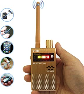 Anti-Spy RF Signal Detector GPS Wireless Camera Detector Electronic Bug Detector Spy Device Scanner Finder