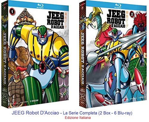JEEG Robot D'Acciao - La Serie Completa (2 Box - 6 Blu-ray) Ed. Italiana