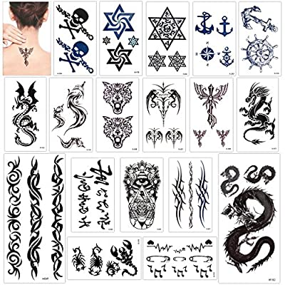 Tatuajes temporales para adultos