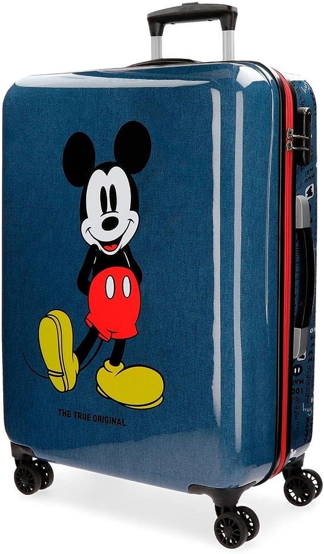 centro comercial de moda Maleta mediana Mickey azul rígida 69cm 69cm 69cm 4R  A la venta con descuento del 70%.