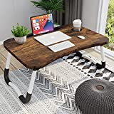 Homemaxs Laptop Desk for Bed, Portable Laptop Bed Tray Table with Foldable Legs, Laptop Table for Students, Eating, Working, Writing, Gaming, Foldable Bed Tray for Drawing on Bed, Couch, Sofa, Floor