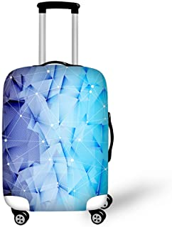 Travel Luggage Cover Fits 18-30 Inch Brilliant Colors Spandex Luggage Protector