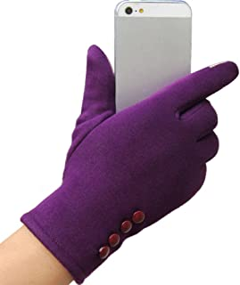 Women Gloves,Clearance! Auwer Winter Women Gloves Touchscreen Texting Thick Lining Knit Mittens