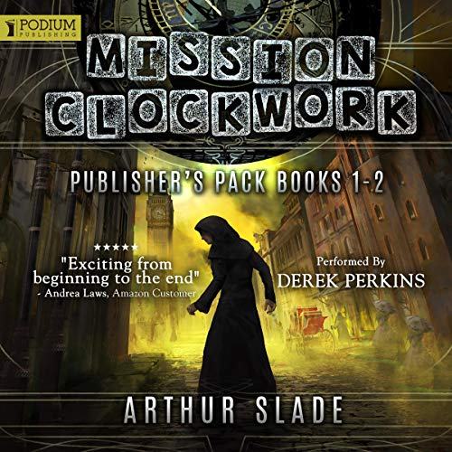 Mission Clockwork: Publisher's Pack     Books 1 and 2              Written by:                                                                                                                                 Arthur Slade                               Narrated by:                                                                                                                                 Derek Perkins                      Length: 14 hrs and 41 mins     Not rated yet     Overall 0.0