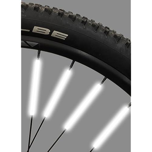da3c9311639 Bike Spoke Reflector Jusmar Pack of 36 - Bike Reflectors for Mountain and  Road Bikes -