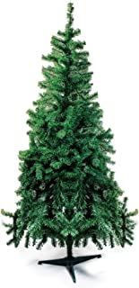 Árvore de Natal com Base Plástica, Portobelo, Verde, 645 Hastes, 1.80m, Cromus