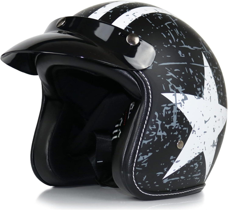 Motorcycle Open Face Spasm price 3 4 Helmet Max 76% OFF Motorbike Women for Modula Men