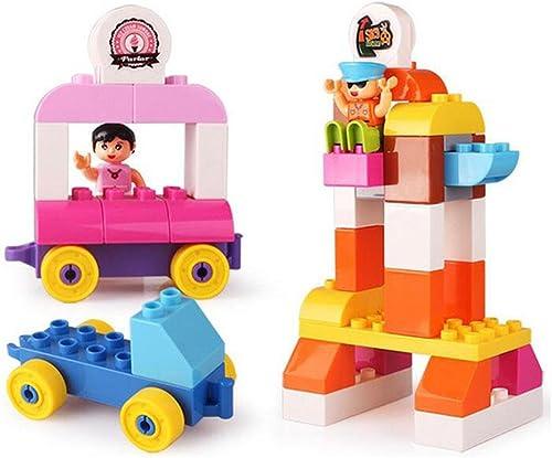 servicio honesto Niños Niños Niños ensamblaños construcción juguetes patio de recreo casa escena rompecabezas aclaración bloques de construcción 41  Ahorre hasta un 70% de descuento.
