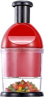 دستگاه هلی کوپتر غذایی ، دستگاه خردکن دستی ، تمیز کردن آسان ، برش پیاز خردکن سبزیجات سیلی دستی ، دستگاه خردکن سیر برای پیاز ، آجیل ، گوجه فرنگی ، فلفل ، کرفس و غیره
